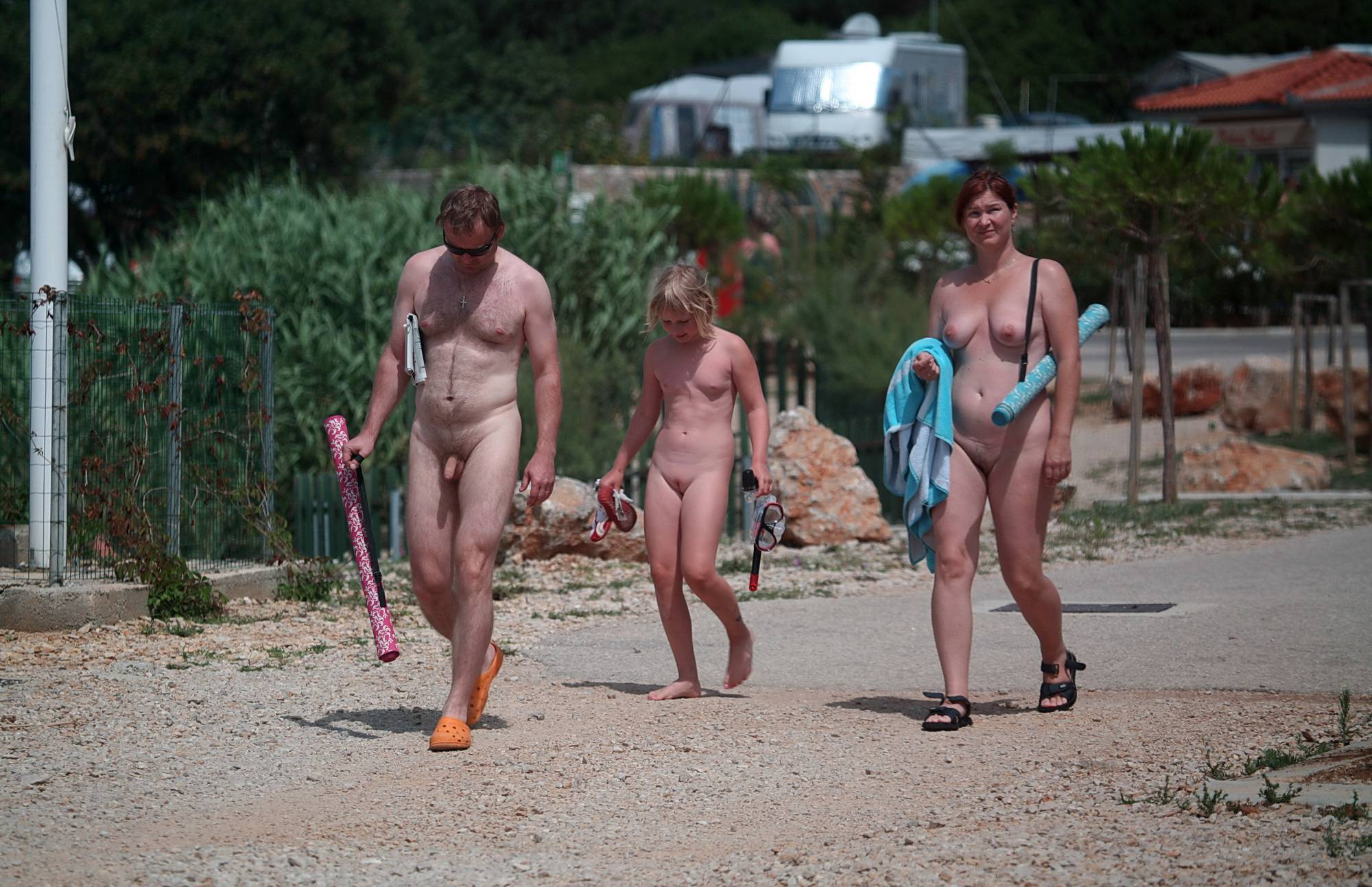 Nudist Gallery Afternoon Daytime Stroll - 2