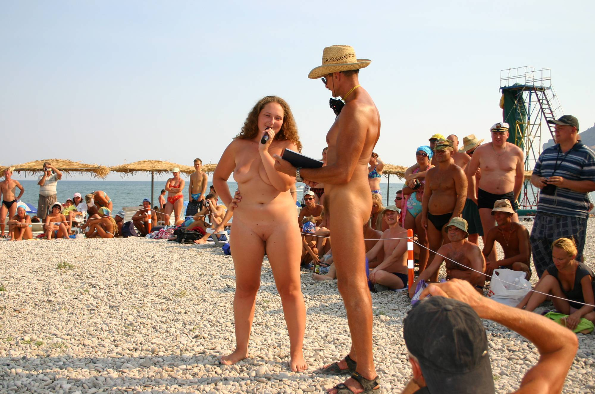 Nudist Pics Beauty Pageant Interview - 2