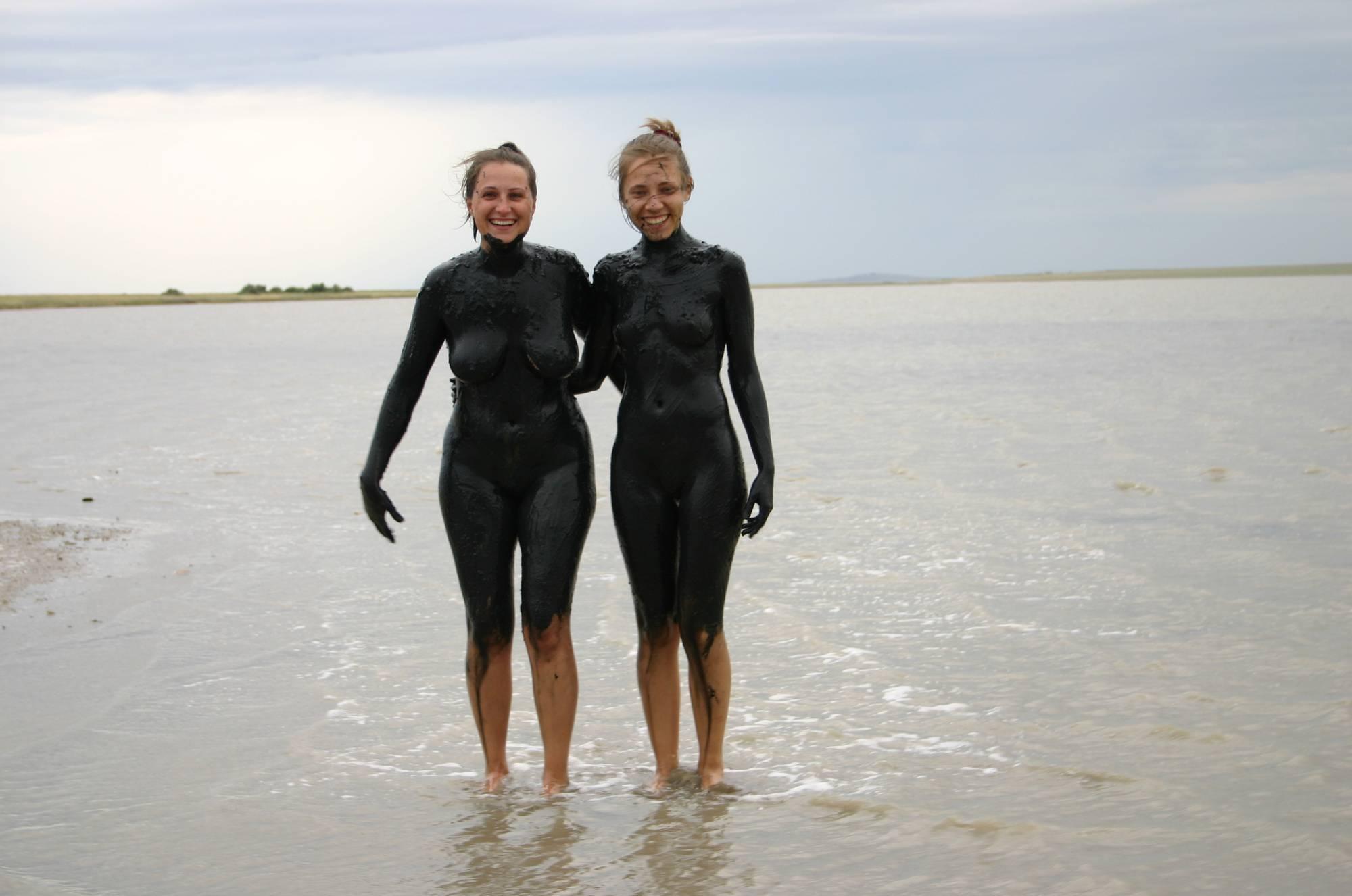 Nudist Photos Black-Sea Body Mud Shots - 2