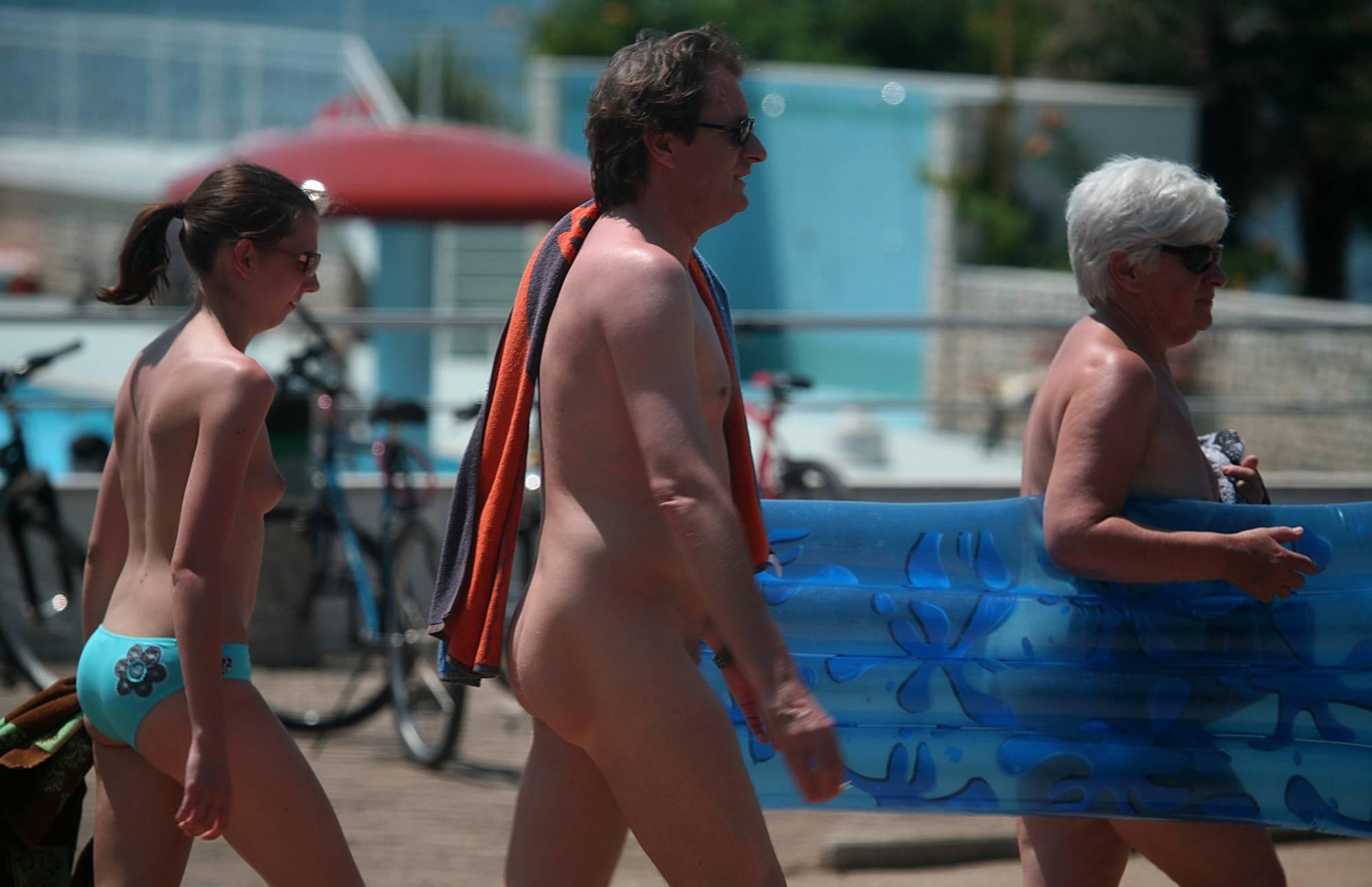 Nudist Photos Blue Ocean Swim Pool - 2