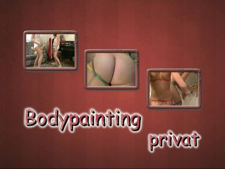 Nudist Movies Bodypainting Privat - Poster