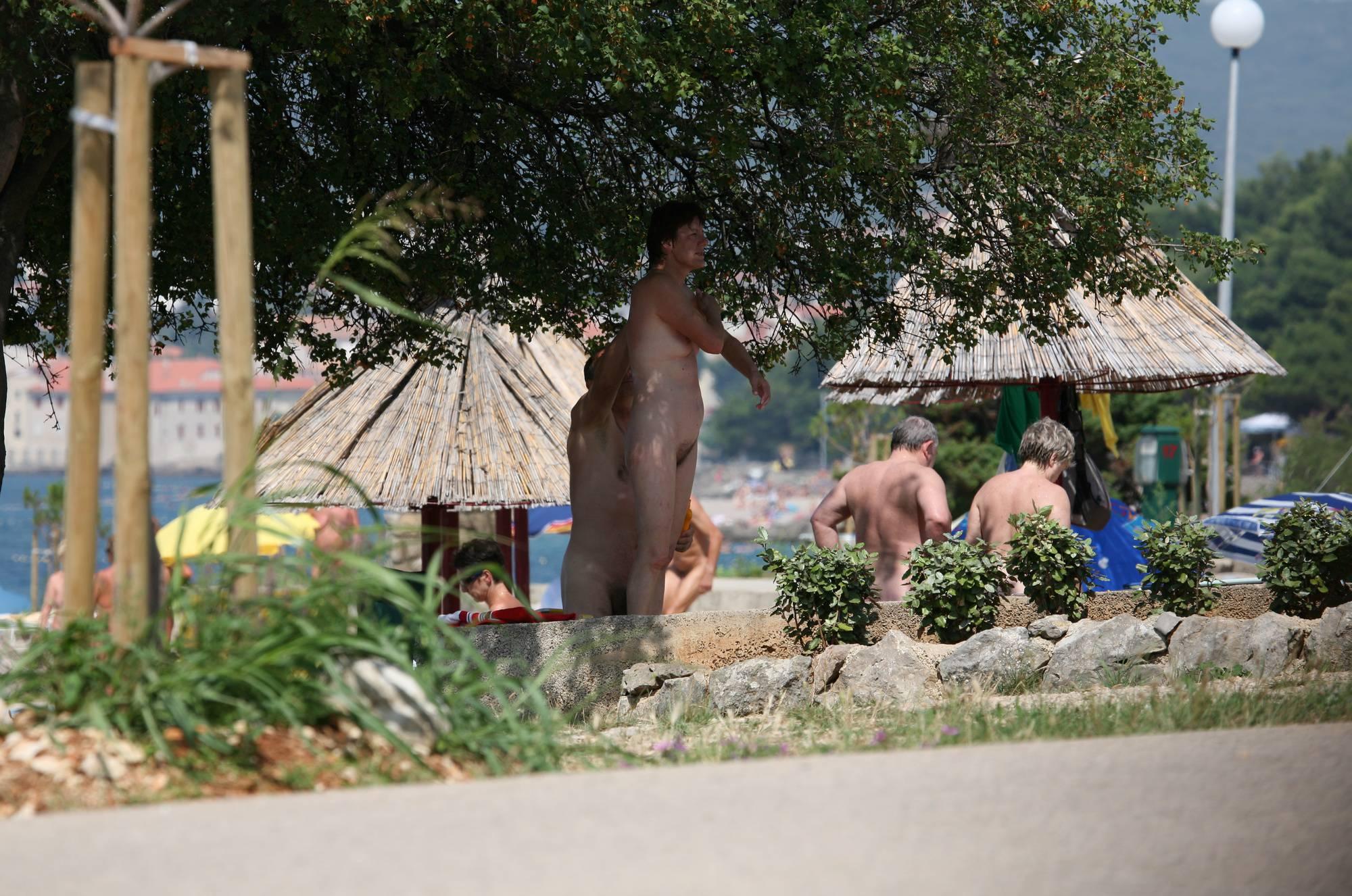 Nudist Photos Bondi Beach-Park Grounds - 1