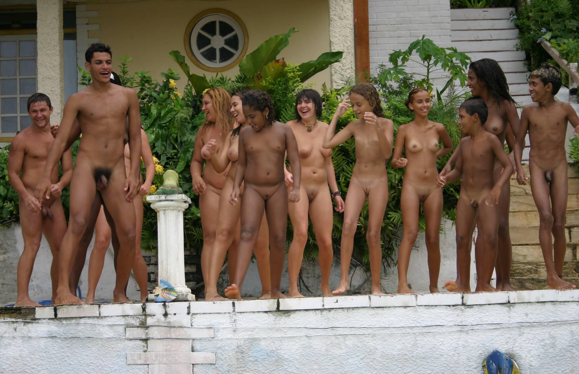 Brazilian Jumping in Pool - 2