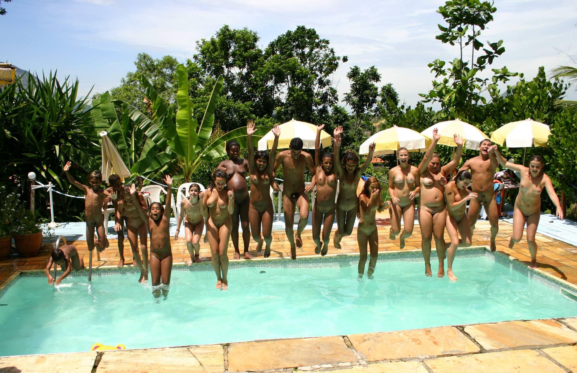 Nudist Gallery Brazilian Pool Wall Lineup - 1