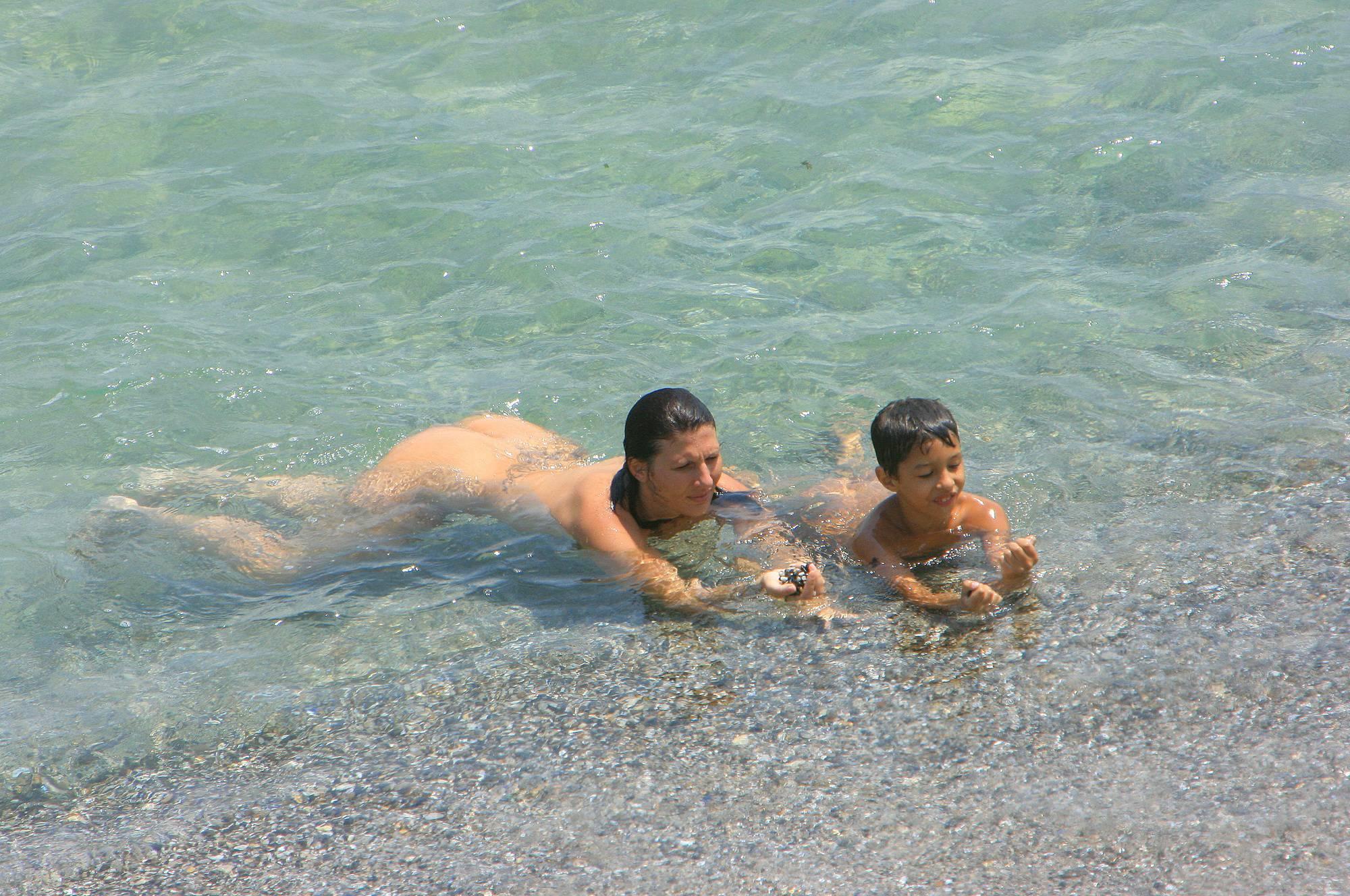 Nudist Pics Bulgarian Family of Three - 1