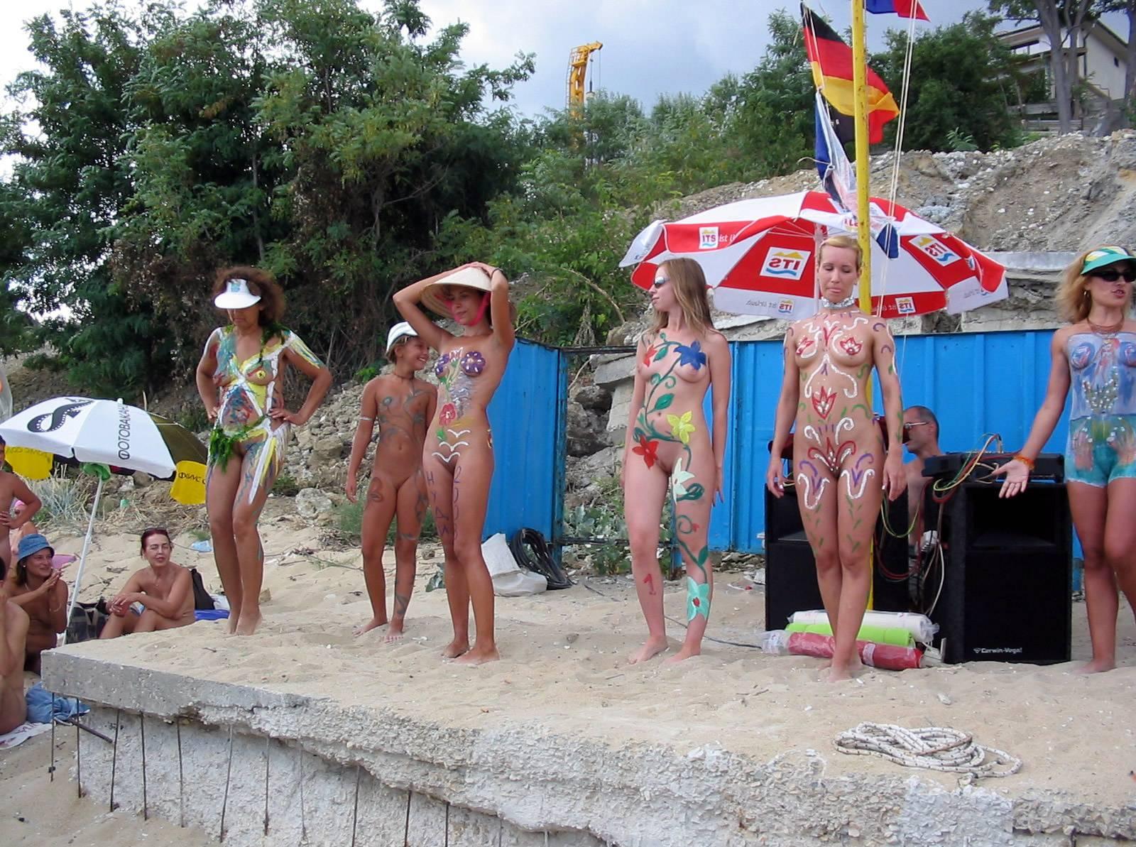 Nudist Pics Bulgarian Pageant Lineup - 1