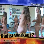 Teen Nudist Workout 2