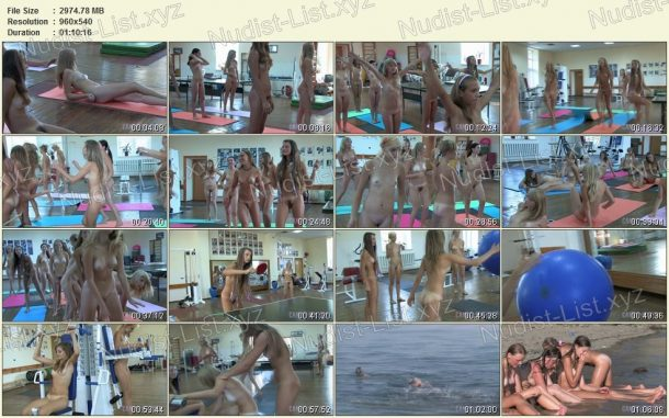 Teen Nudist Workout 2 - film stills 1