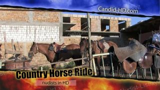 Candid-HD.com - Country Horse Ride