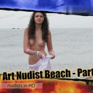 Body Art Nudist Beach. Part 1