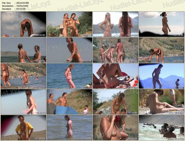 Screenshots of Candid Family Nudism Part 1 1
