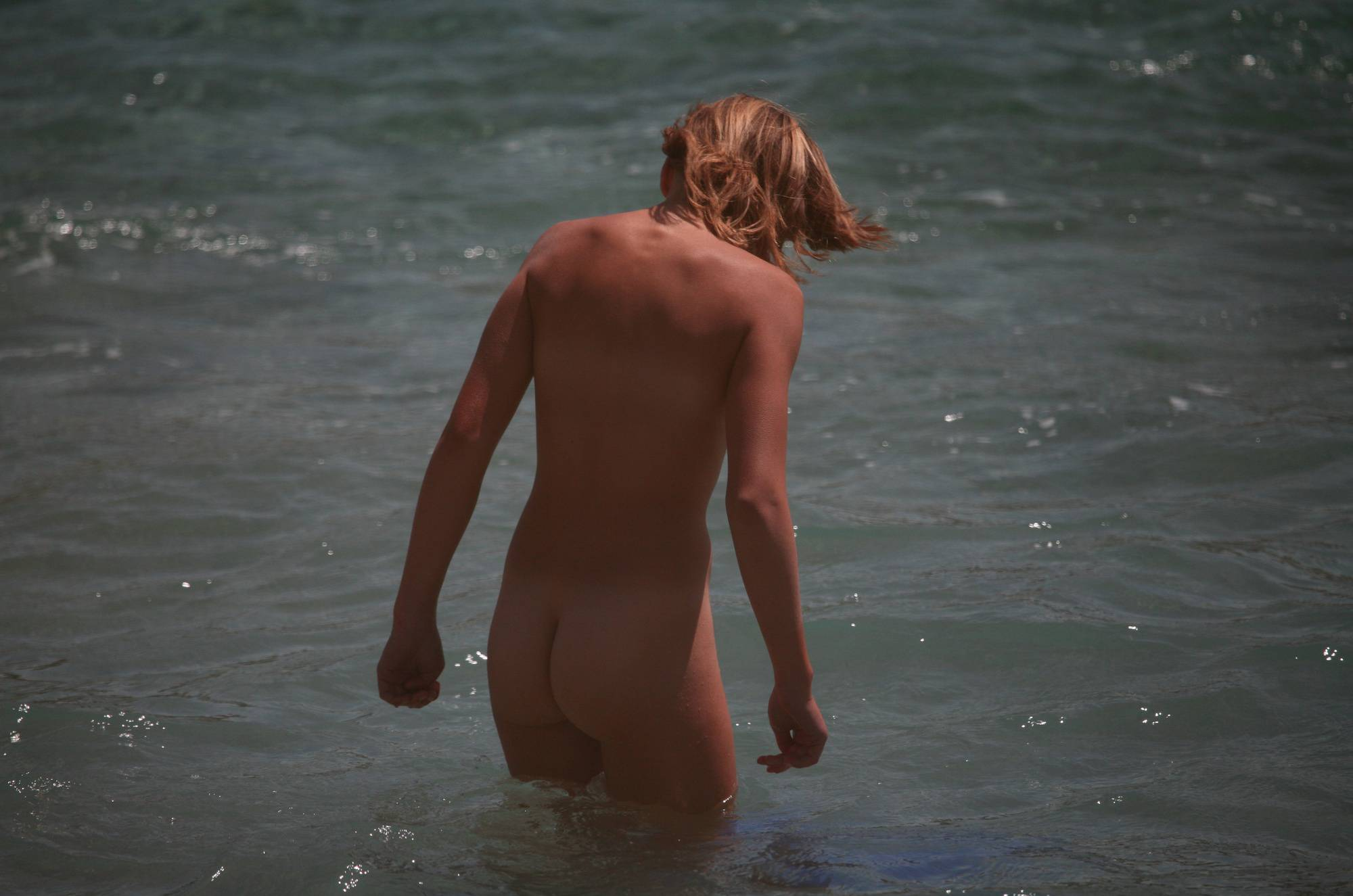 Cove Waters Entrance Girl - 2