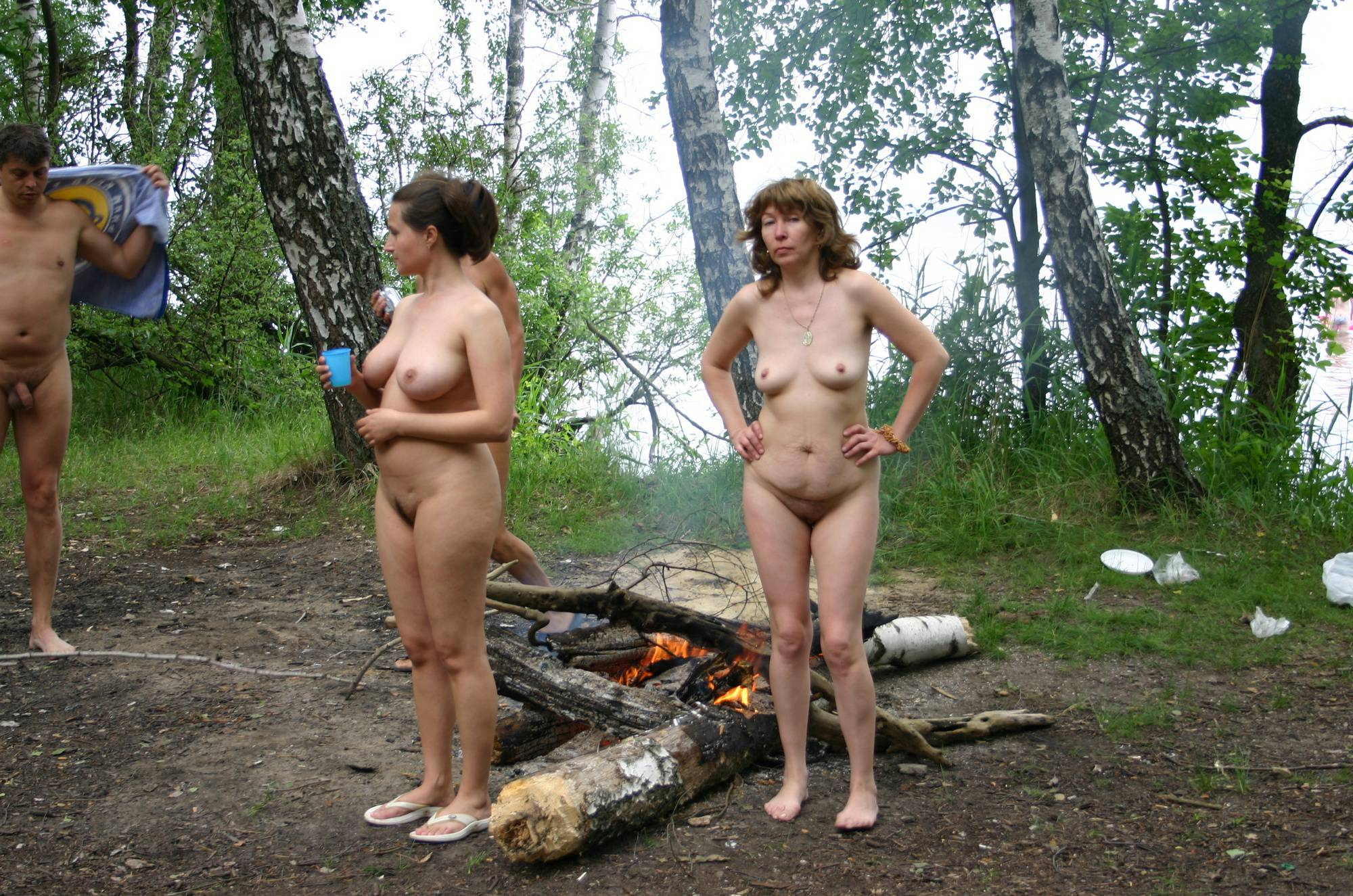 Nudist Pictures Dare to Be Bare Camping - 1