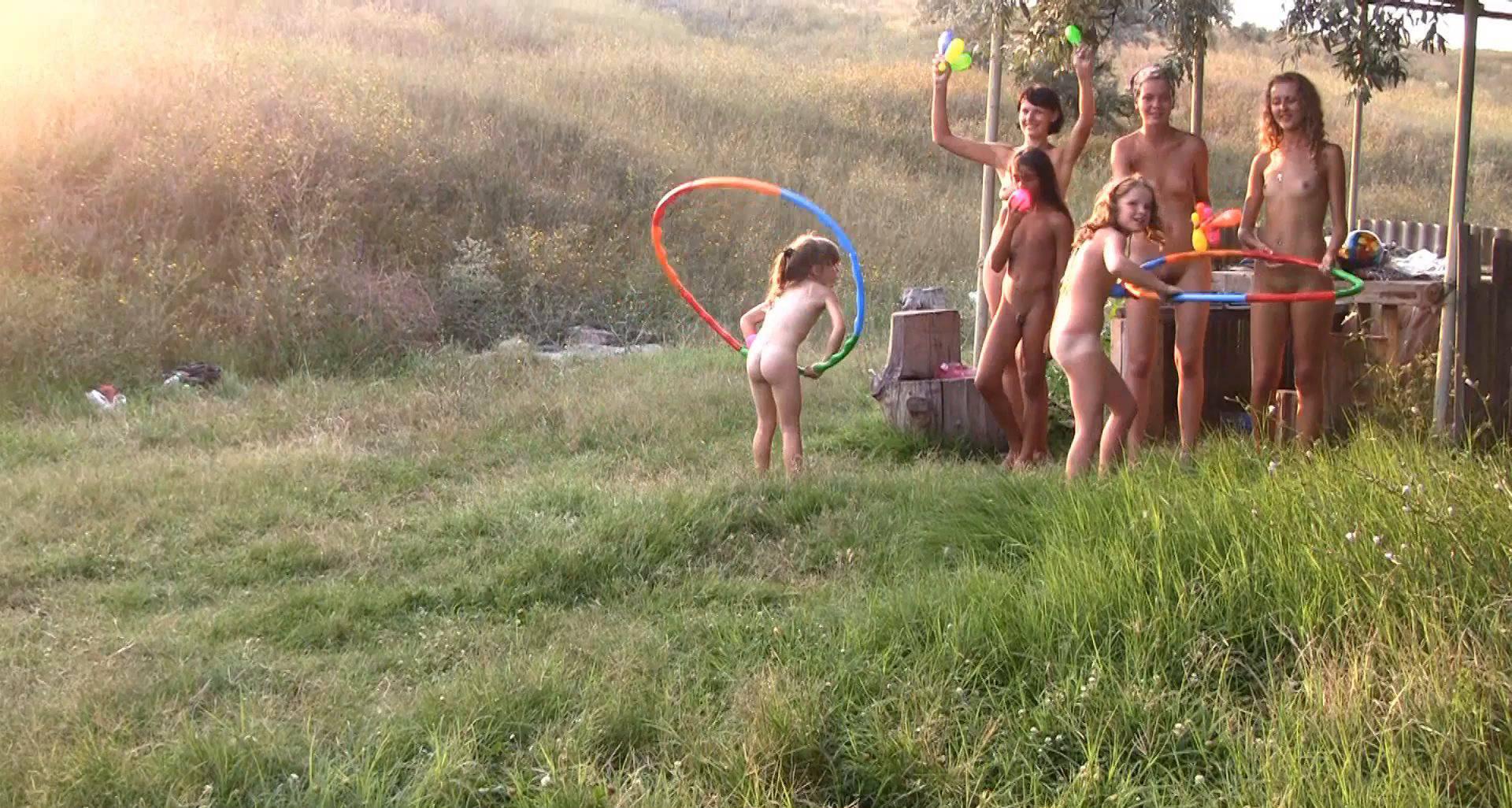Nudist Movies Countryside Lounging 2 - 1