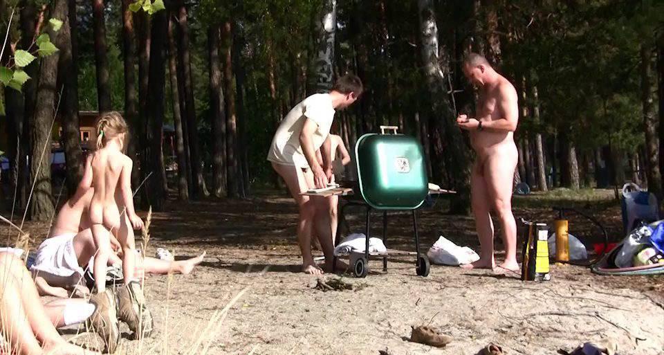 Nudist Movies Naturist Sport Medley 2 - 2