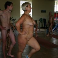 Family Gym Naturist Train
