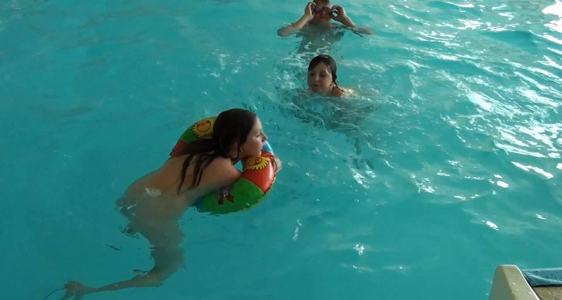 Naturist Videos Family Waterpool Funs - 2