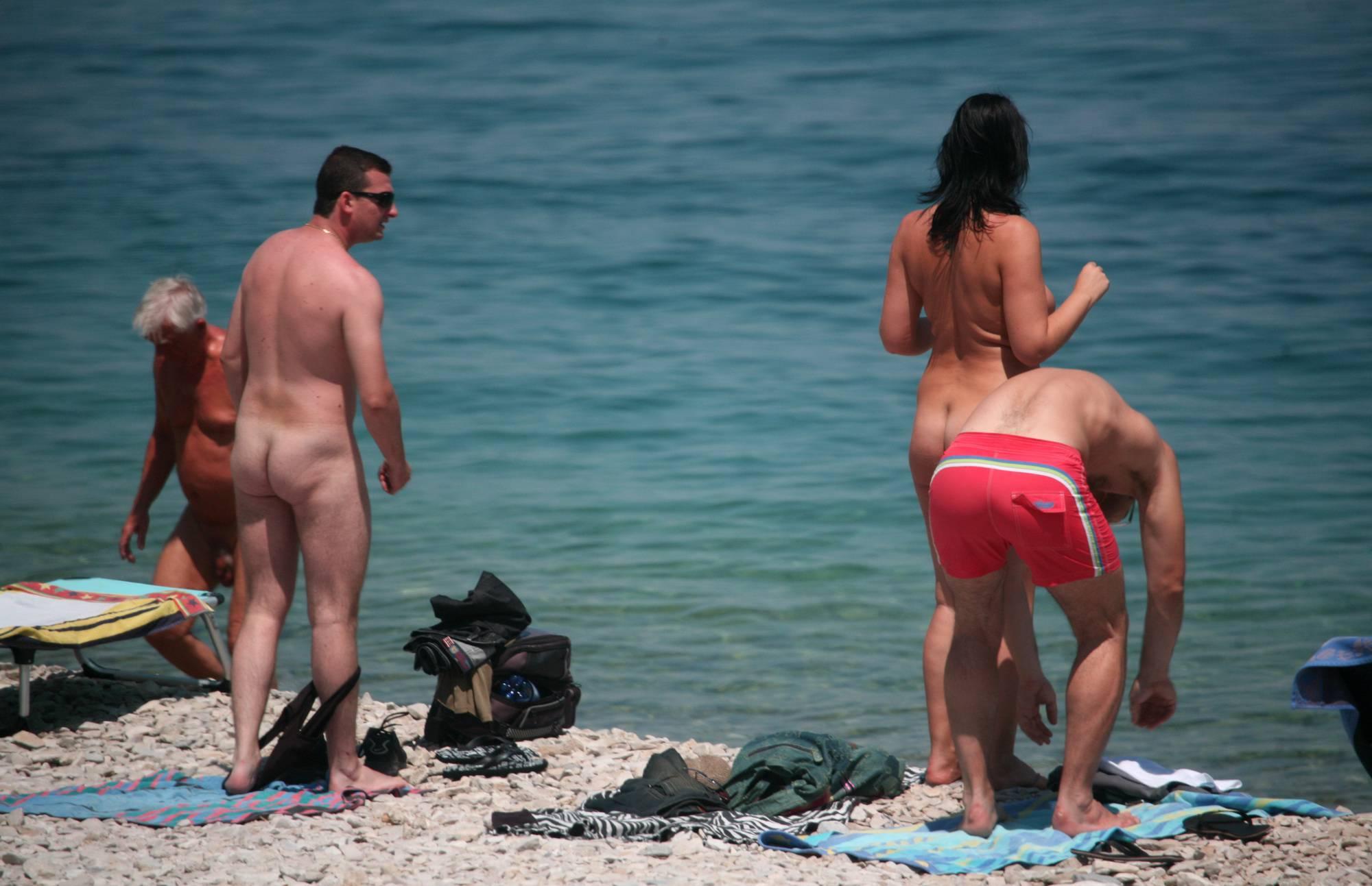 Friends Came on a Beach - 2