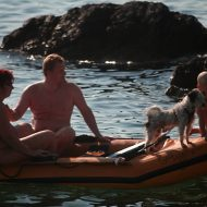 Full Family Nudist Boating