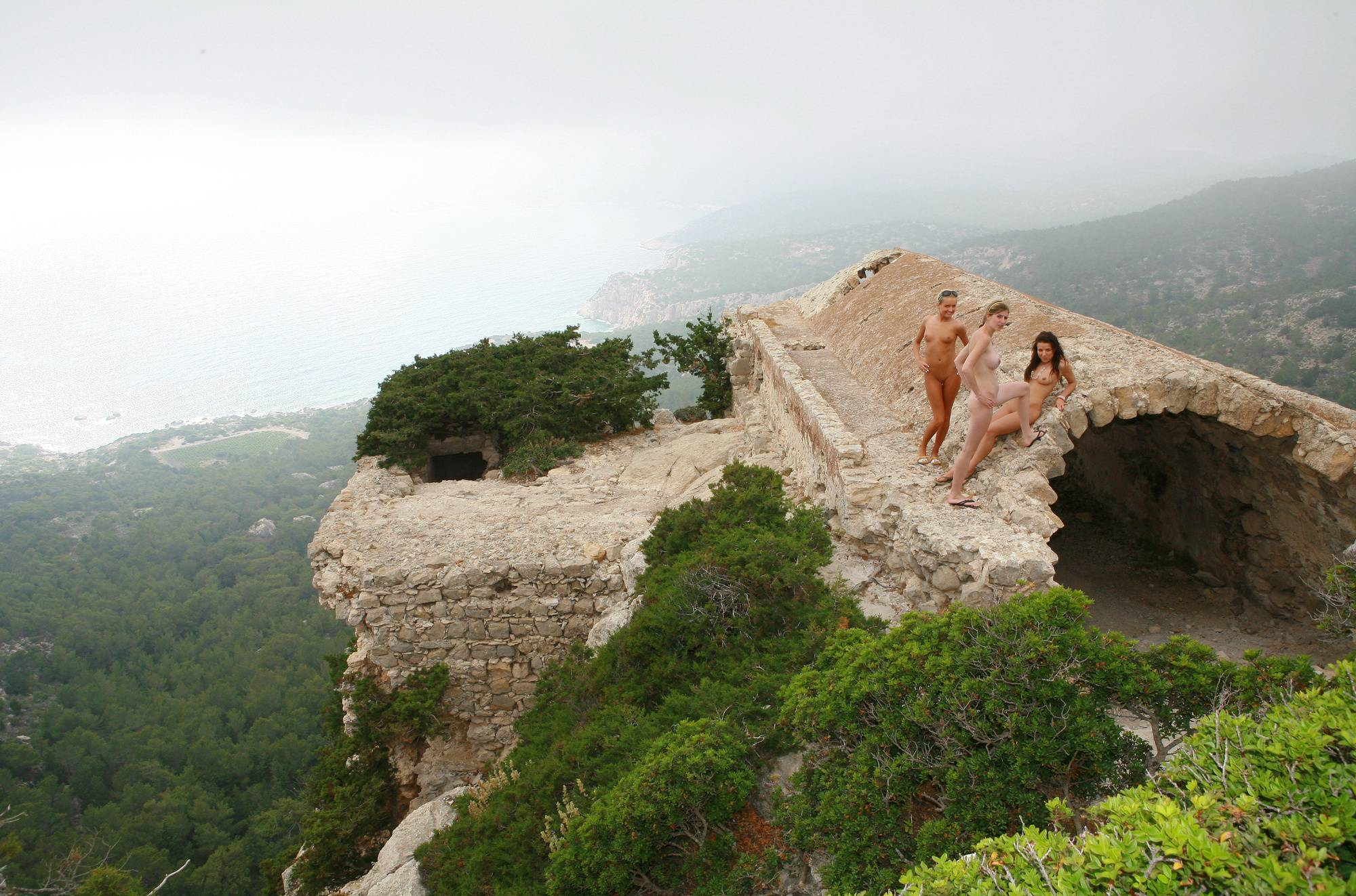 Greek Old Stone Ruins - 1