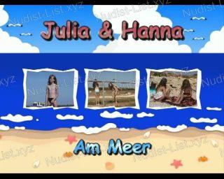 Julia and Hanna Am Meer - Naturistin.com