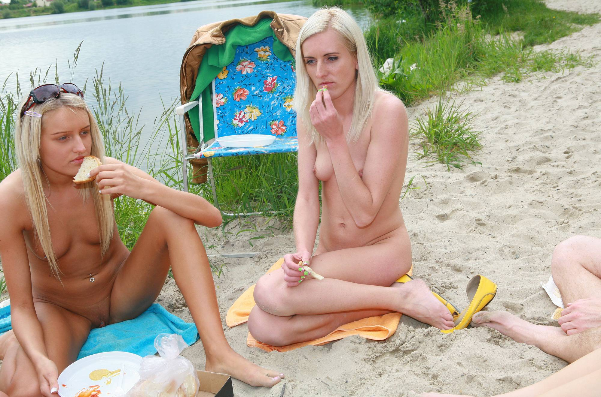 Nudist Gallery Lakeside Picnic For All - 1