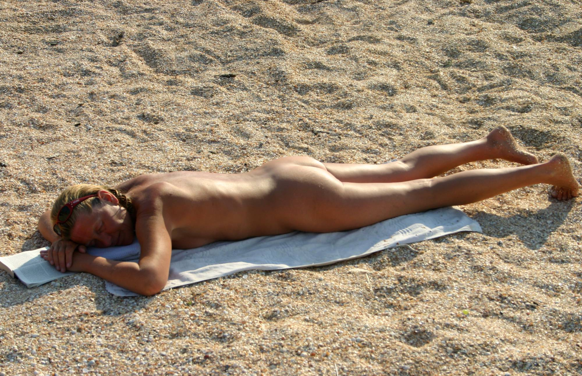 Nudist Gallery Mattress Beach Relaxation - 1