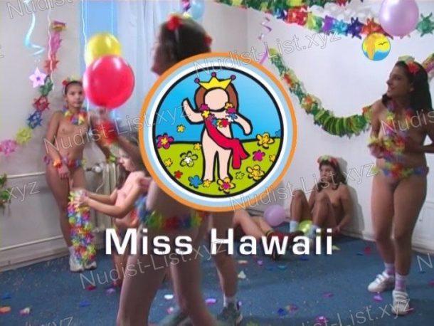 Frame Miss Hawaii