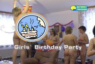 Girls Birthday Party - Naturist Freedom