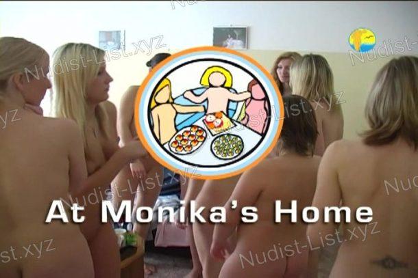 At Monika's Home frame