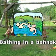 Bathing in a Bahnak