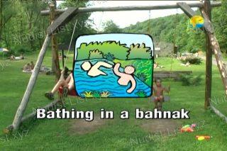 Bathing in a Bahnak - Naturist Freedom