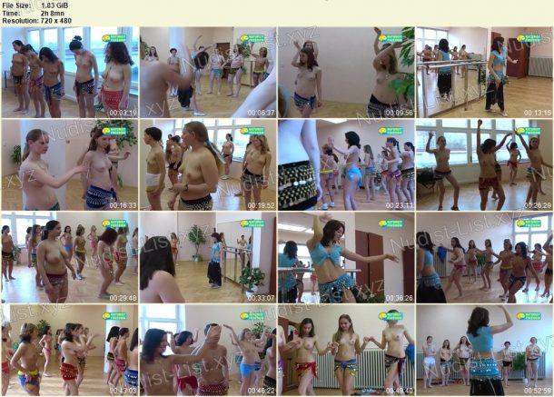 Frames of Belly-Dancing 1