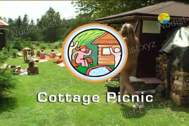 Cottage Picnic frame