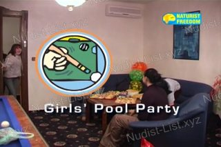 Girls' Pool Party - Naturist Freedom