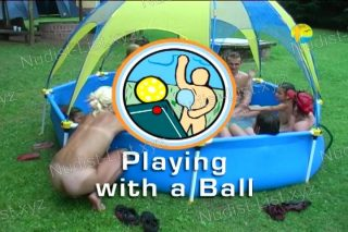 Playing With a Ball - Naturist Freedom