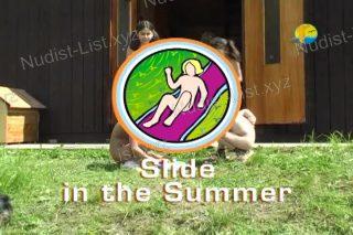Slide in the Summer - Naturist Freedom