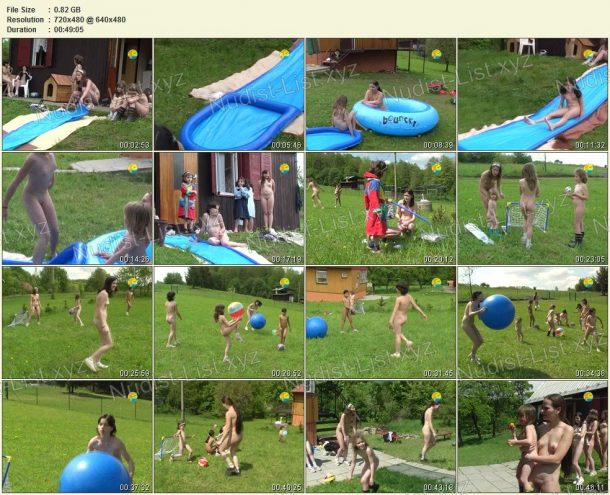 Shots of Slide in the Summer 1