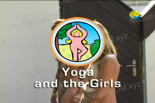 Shot of Yoga and the Girls