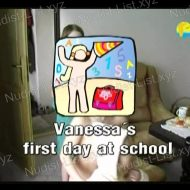 Vanessa's first day at school