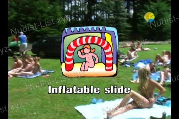 Frame Inflatable Slide