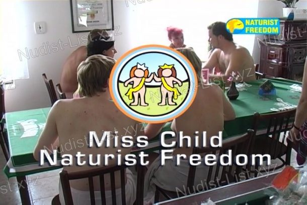 Frame of Miss Child Naturist Freedom