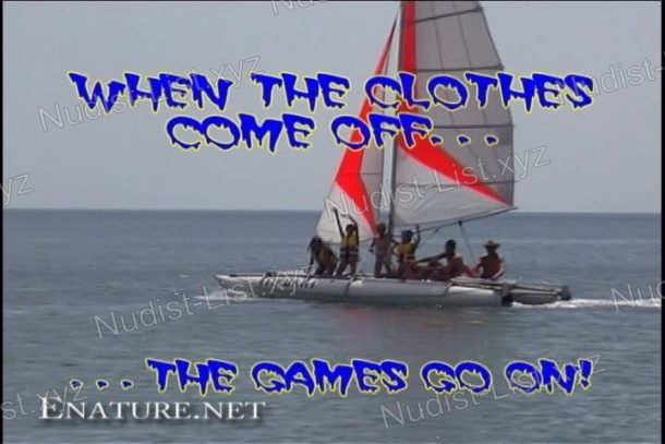 When The Clothes Come Off The Games Go On! frame