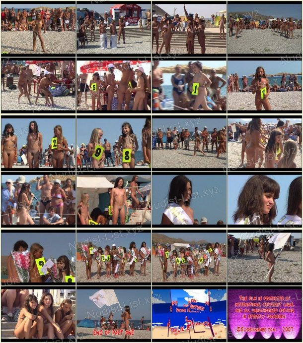 Family Beach Pageant Part One - frames 1