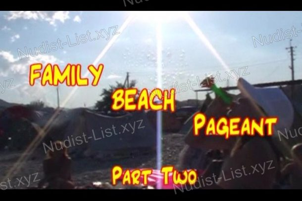 Family Beach Pageant Part Two - video still