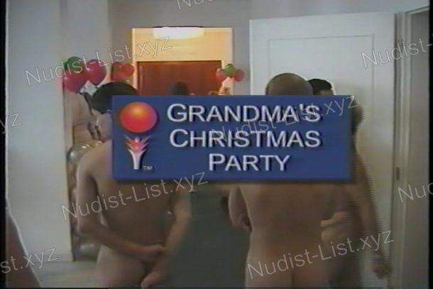 Grandma's Christmas Party - shot