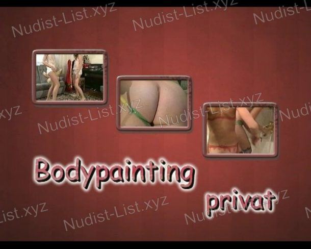 Shot of Bodypainting Privat