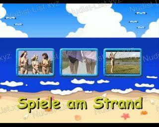 Naturistin.com - Spiele am Strand