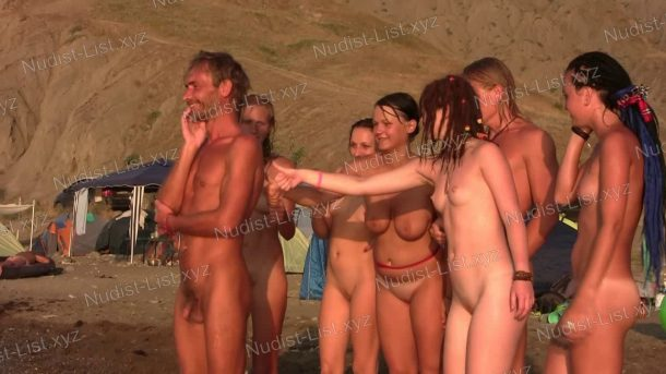 Video still of Young Naturists on a Nudist Beach - Nature-Girls.net