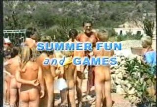 Summer Fun and Games - Nudist Video